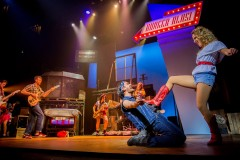 """As Chuck Cranston in """"Footloose"""" - 'The Girl Gets Around', April 2017. Photography by Matt Martin."""